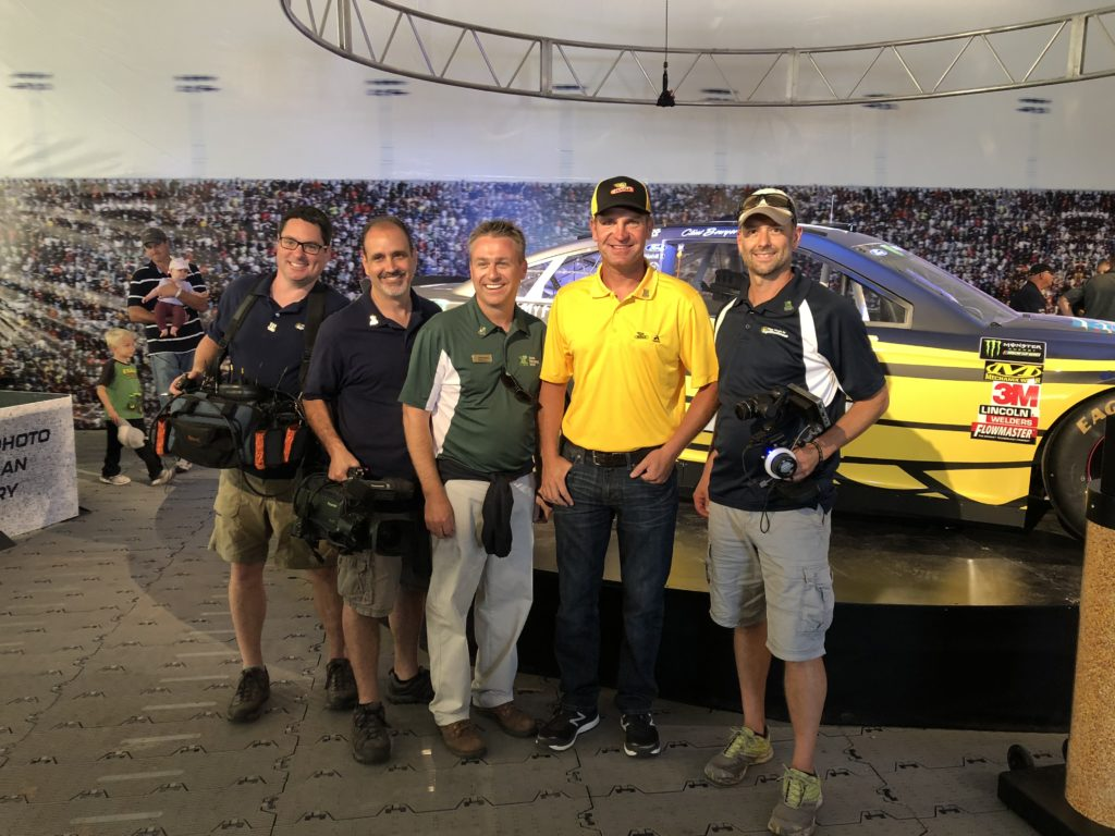 Working with NASCAR driver Clint Bowyer - Dekalb Seeds