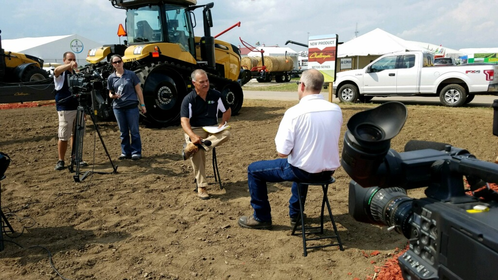 On location with AGCO